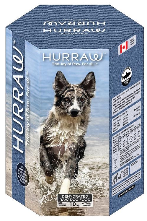 Hurraw ''cru deshydraté'' au poisson