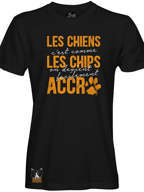 T-Shirt ''Crousti-chien''