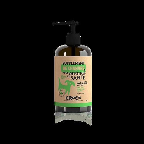 Supplément d'huile de chanvre naturel