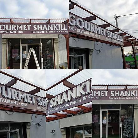 Gourmet Shankill Signage