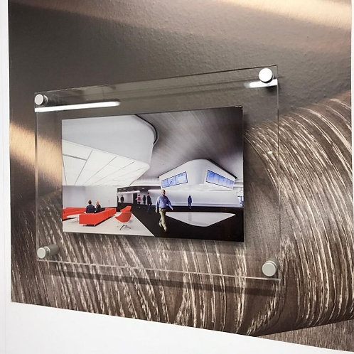 Acrylic Panel and Satin Standoff Kit