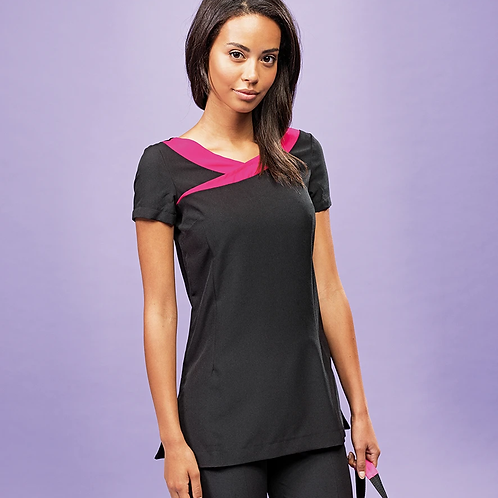 LADIES IVY BEAUTY & SPA SHORT SLEEVE TUNIC