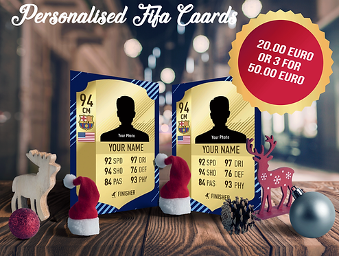 Personalised Fifa Boards