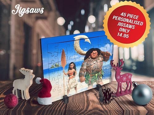 Personalised Jigsaw - 45pcs
