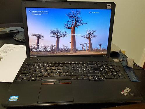 "Lenovo ThinkPad Edge 15.5"" Display  Intel core i3-2348M"