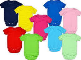 Babies Short Sleeved Body Suits