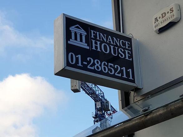 Finance House Lightbox