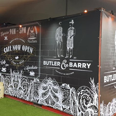 Truck Container PVC Banner Wrap