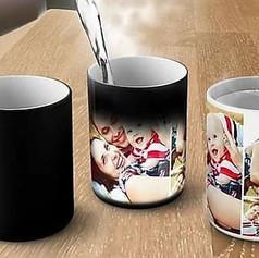 Magic printed mugs
