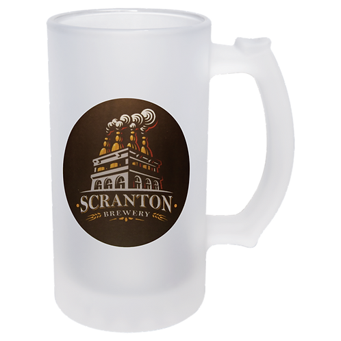 Personalised Frosted Beer Stein