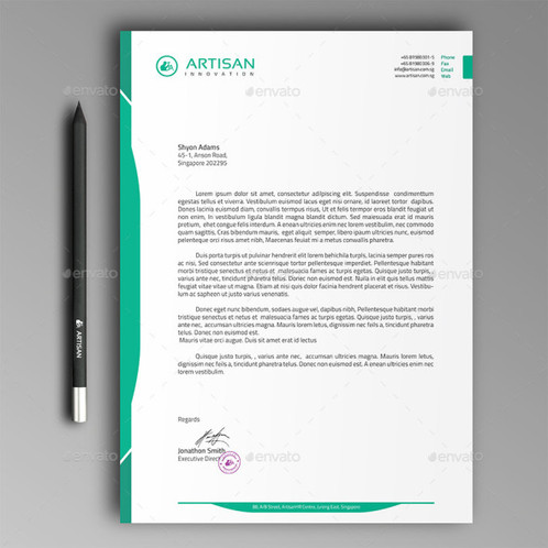 Letterheads printing letterheads is a crucial technique for any business to create professional stationery that can communicate to co workers clients amd business thecheapjerseys Gallery