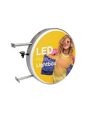 Round or Rectangle Outdoor Lightbox