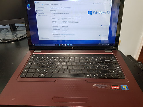 "HP G62 16"" Display  AMD Antholon 320 dual core processor"