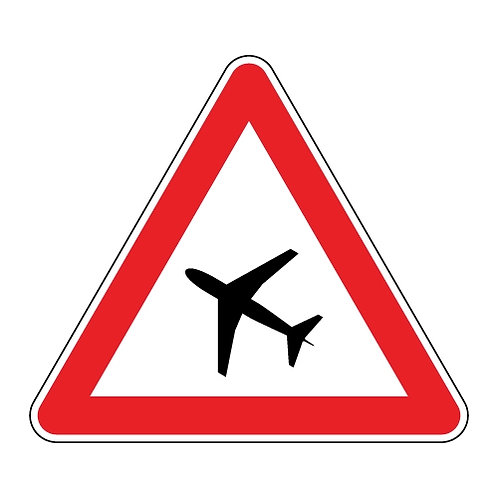 Road Aluminium Safety Sign Kit - 600mm
