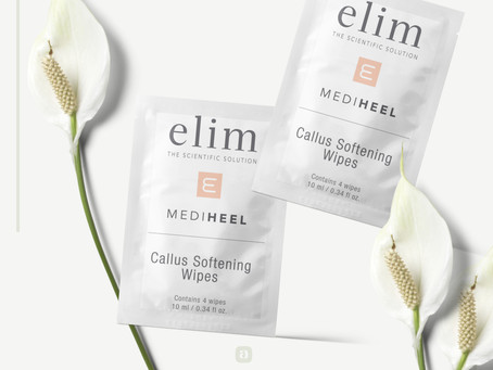 Elim Launches the brand new Callus Removal Wipe!