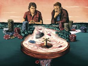 Hoe de verstokte gokker niet kan winnen van zijn verslaving