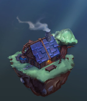Isometric-floating-house-Night.jpg