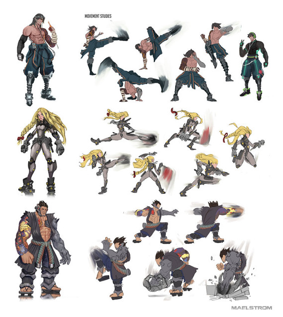 Movement-studies-with-Characters-on-side