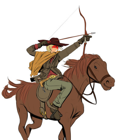 CowGirl-on-horse-with-BOW-DECEMENER-3-20