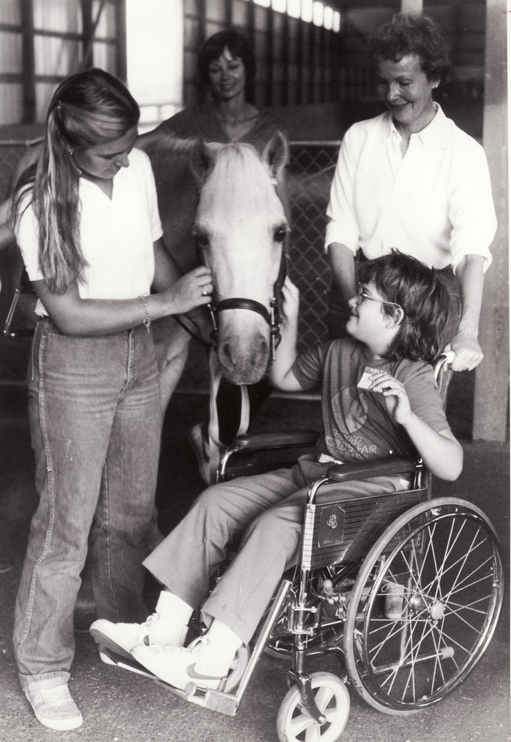 Michele Andrews-Sabol, Ann Fassett and t