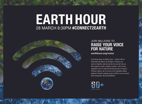 Earth Hour 2020 is almost here!