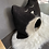 Thumbnail: Hundehöhle MAX schwarz/weiß - sofort versandbereit!
