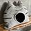 Thumbnail: CARLO - Tigerkatze mittelgrau mit offenen Augen - sofort versandbereit!