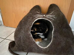 Die 20jährige Luzy hat ein Haus bekommen