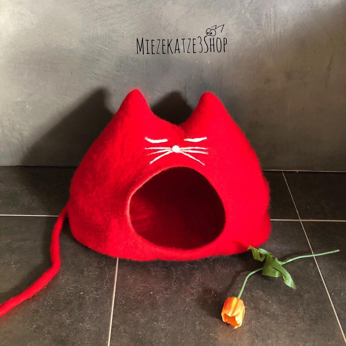 Katzenhöhle ROSENROT