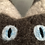 Thumbnail: POLLY - Tigerkatze taupe mit offenen Augen