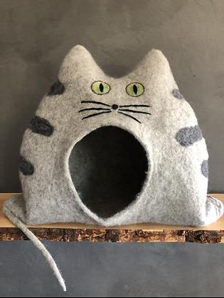 HARRY - Tigerkatze beige mit offenen Augen