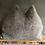 Thumbnail: LINUS - taupe mit weißem Bauch