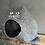 Thumbnail: MOMO - anthrazitgrau mit offenen Augen - sofort versandbereit!