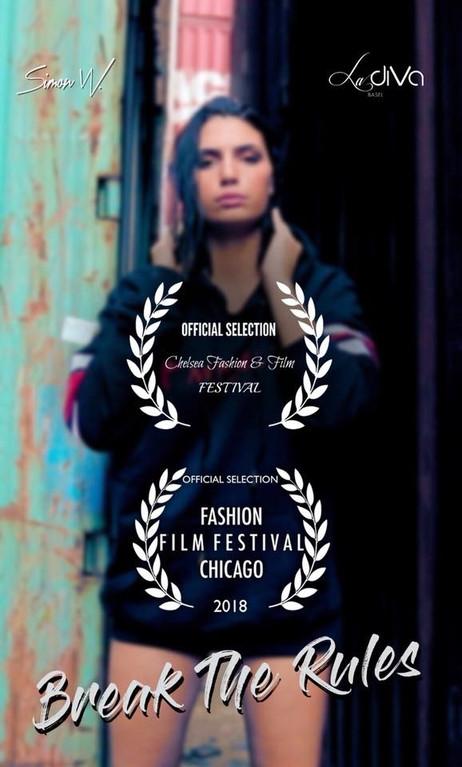 """Nominiert für """"Best Fashion Video"""""""