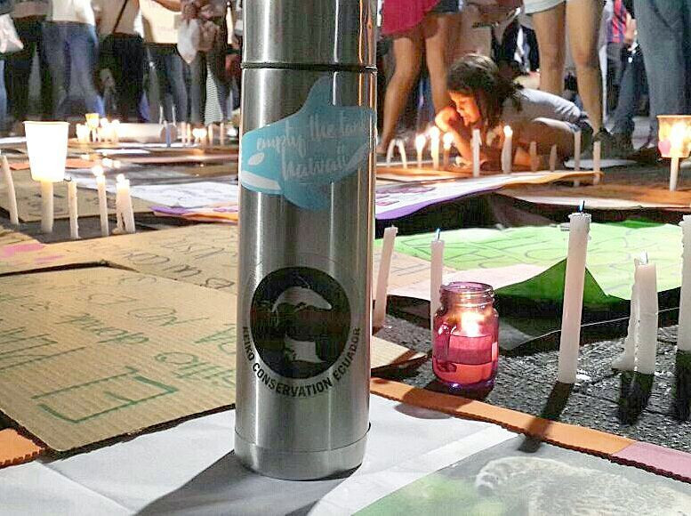 keiko ecuador animal rights protest