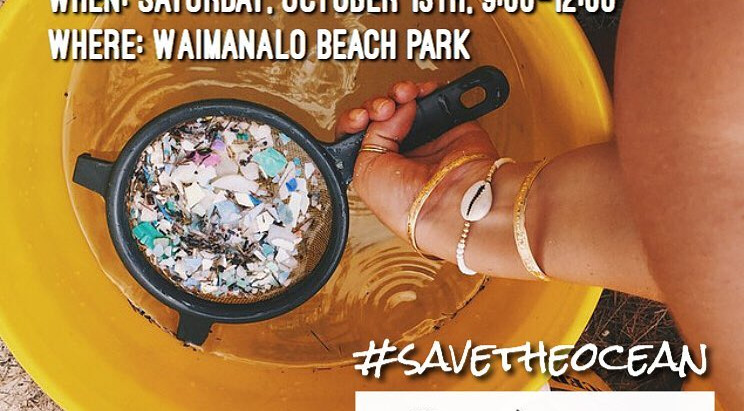 October 2018 Monthly Oahu Beach Cleanup