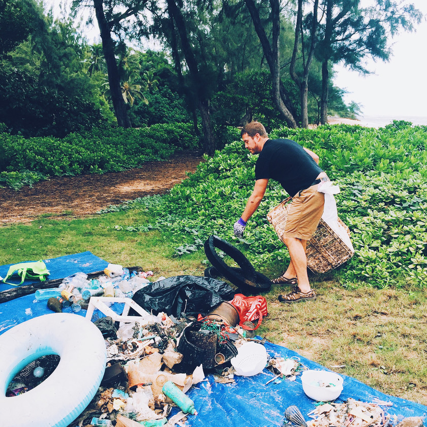 Keiko Conservation One Ocean Conservation Water Inspired Beach Cleanup Pounders Hawaii