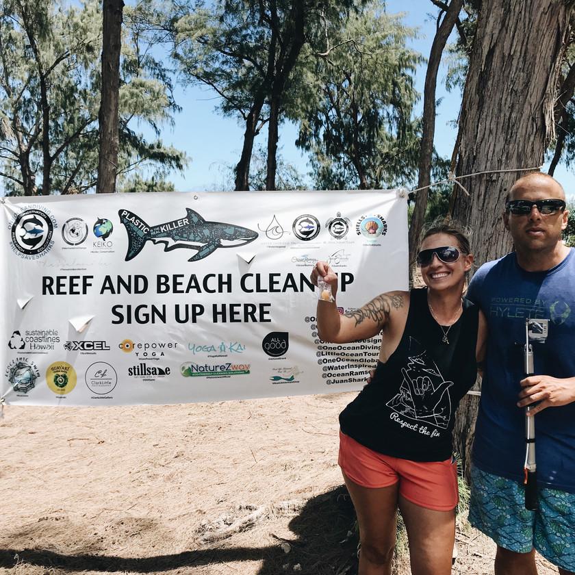 Keiko Conservation One Ocean Conservation Water Inspired Beach Cleanup #nerdsagainstnurdles