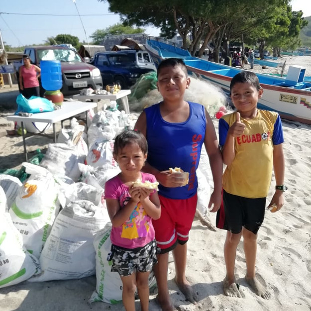Keiko Conservation Ecuador Reef Cleanup