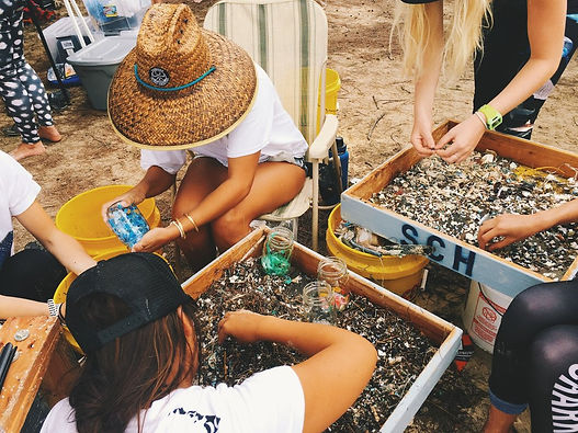 Siena Schaar Reef And Beach Clean Up Keiko Conservation