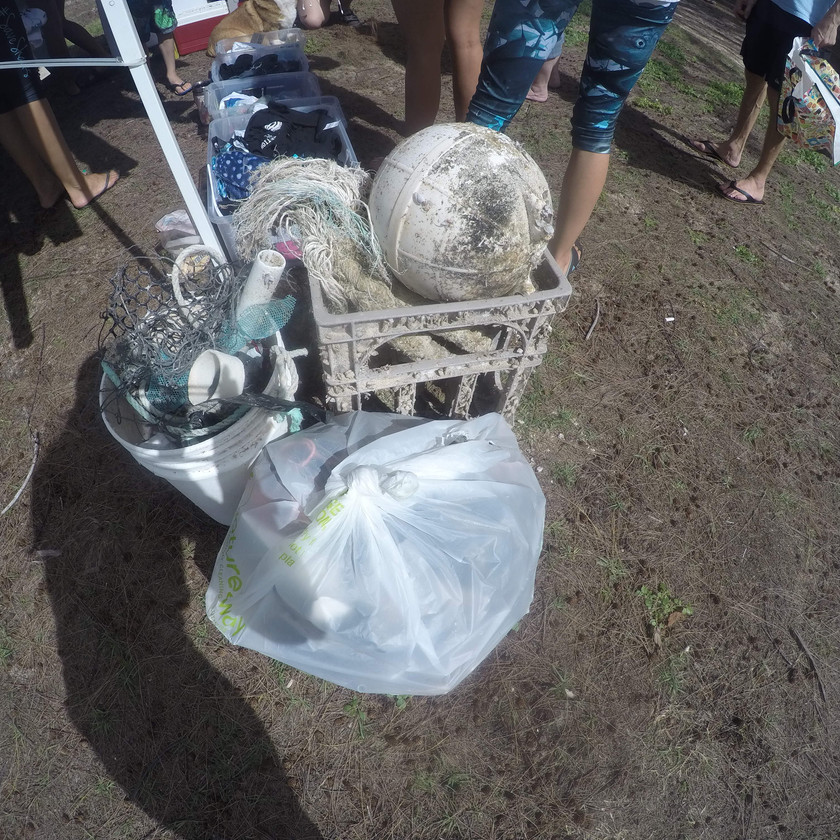 Waimanalo Beach Clean Up Keiko Conservation One Ocean Conservation