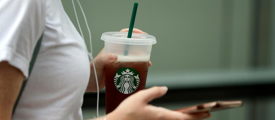 Starbucks Ditching Plastic Straws For Plastic Lids?