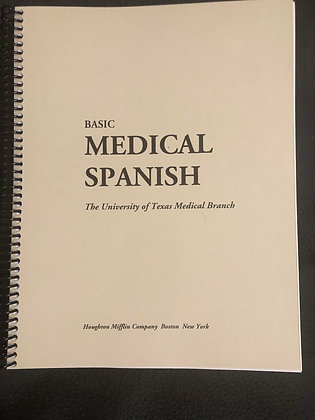 Basic Medical Spanish