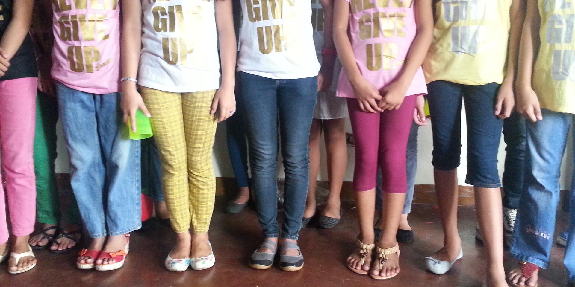 Children of the Outreach Program