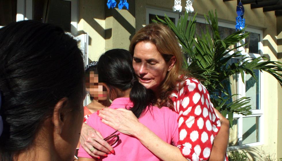 Katie Ford Visiting Survivors