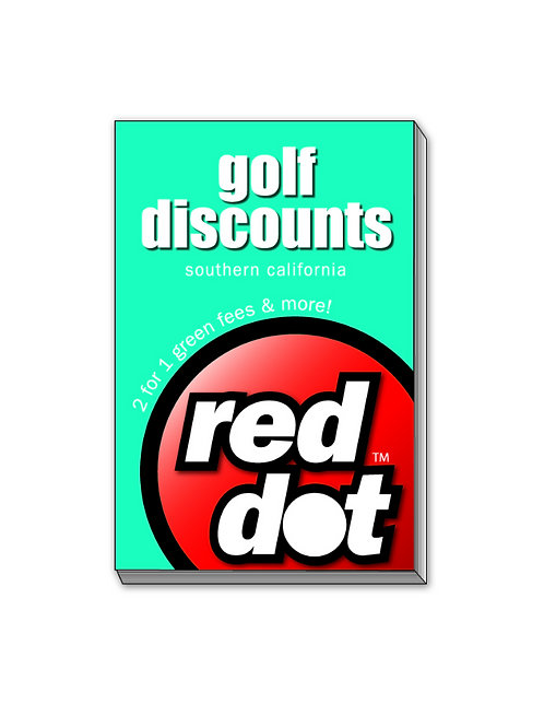 2017 Red Dot Golf Discount Book