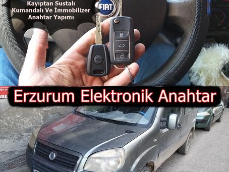 2006 Fiat Doblo 1.9 Kayıptan Sustalı Kumandalı Ve İmmobilizer Anahtar Yapımı