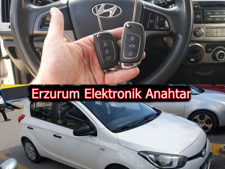 2013 Hyundai İ20 Orjinal Sustalı Kumandalı Anahtar Yapımı