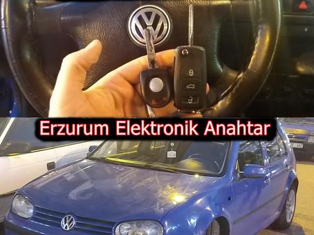 1999 Volkswagen Golf Sustalı Kumandalı Anahtar Yapımı