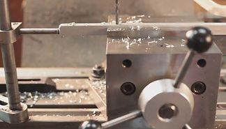 Manual machining is often used at PF CNC Machining to modify an existing part having a shape that allows for fastening.